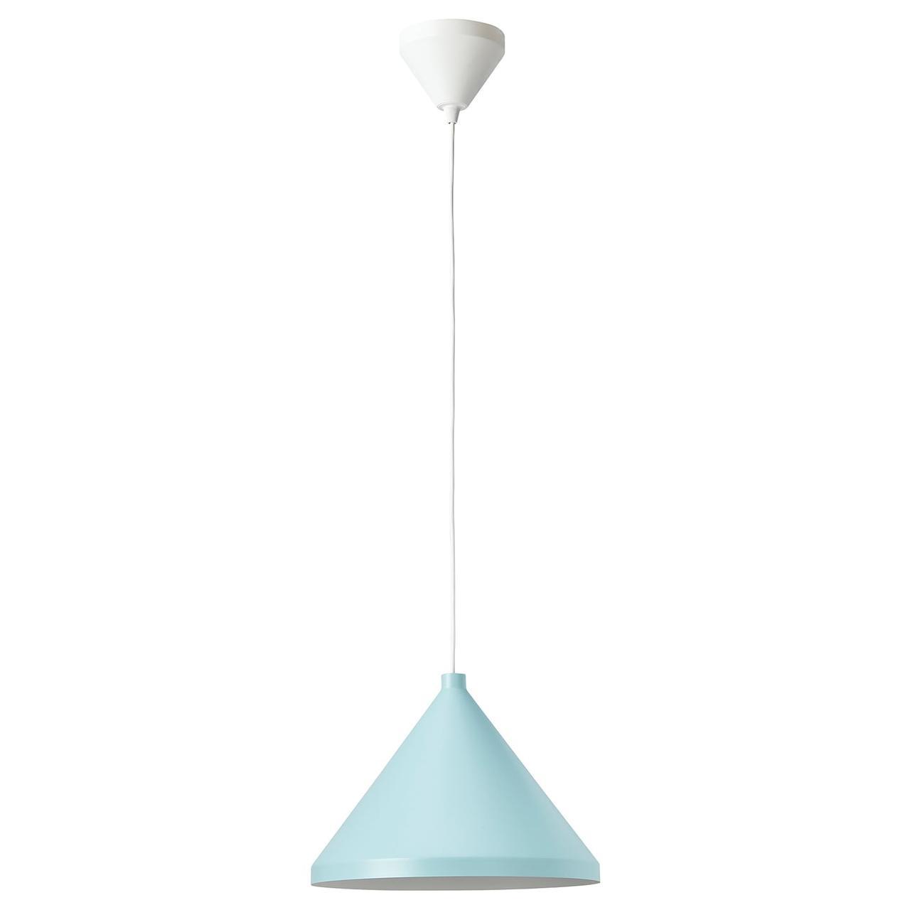 IKEA NÄVLINGE Подвесной светильник, светло-голубой 33 см