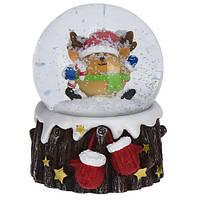 Снежный шар Олень (маленький) 4.9х5.4х6.5 см (IMP_NG_2_2_SM_OLEN)