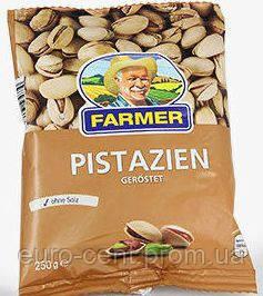 Фисташки без соли FARMER из Германии 250 г