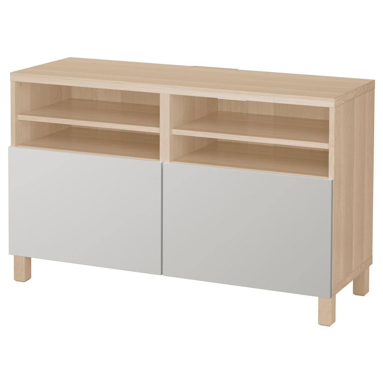 IKEA BESTÅ ТВ Шафа з дверцятами 120x42x74 см