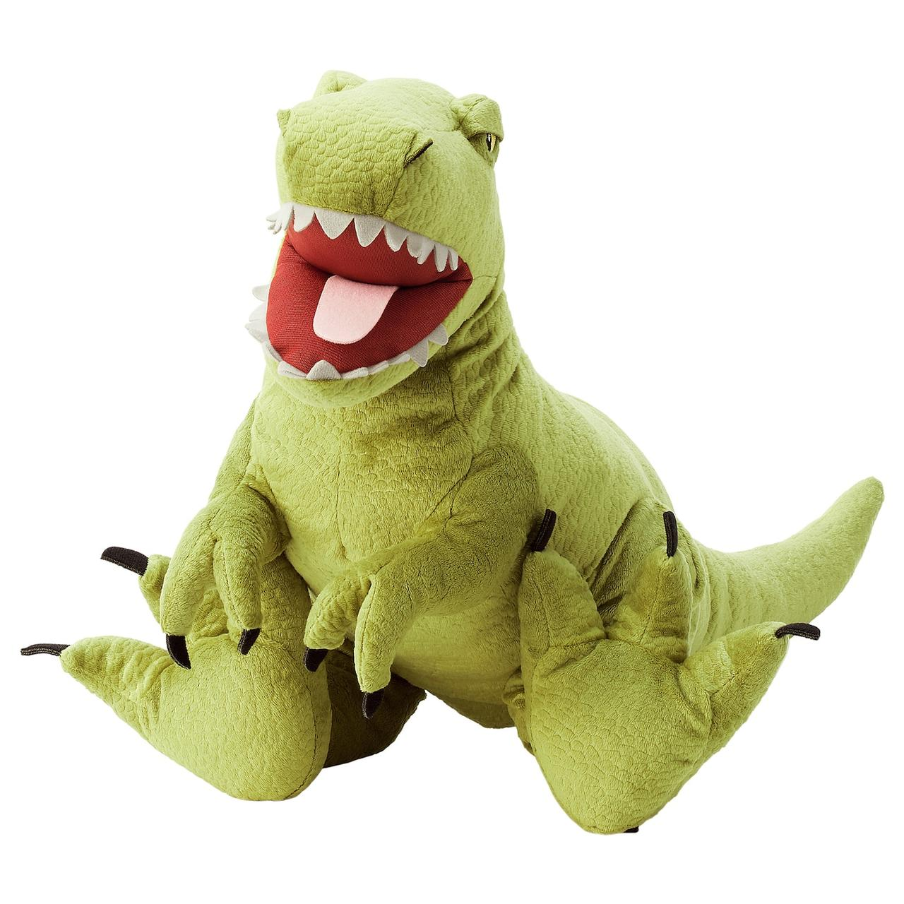 IKEA JÄTTELIK Мягкая игрушка, динозавр thyrannosaurus Rex 66 см