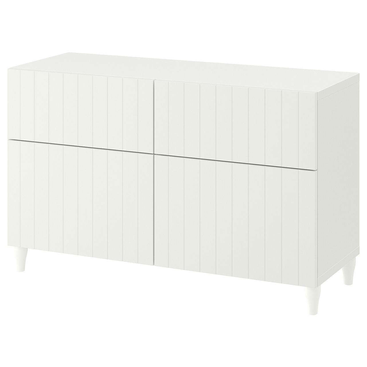 IKEA BESTÅ Комбинация regałowa с двери/ящики с организац, 120x42x74 см