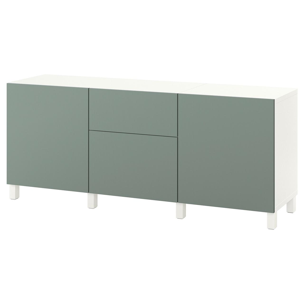 IKEA BESTÅ Комбінація з ящиками/Notviken/Stubbarp полину 180x42x74 см