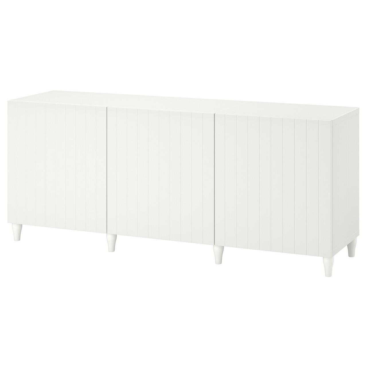 IKEA BESTÅ Комбинация с дверцами 180x42x74 см