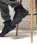 Кросівки чоловічі Nike Air Huarache acronym в стилі найк хуарачи НА ХУТРІ (Репліка ААА+), фото 2