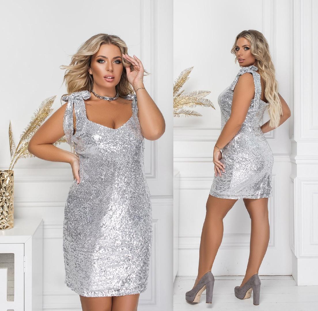 Ошатне плаття великого розміру 2147 (TKN)