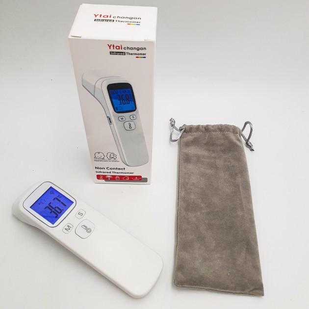 Безконтактний цифровий термометр Ytai Білий