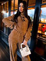 Жіночий прогулянковий костюм з вільної кофтою і брюками (р. 42-46) 63mko1504, фото 1