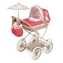 Кукольная коляска DeCuevas 81033 с зонтом