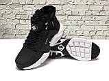 Кроссовки мужские Nike Air Huarache acronym в стиле найк хуарачи НА МЕХУ (Реплика ААА+), фото 4