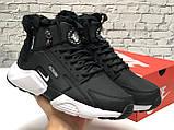 Кроссовки мужские Nike Air Huarache acronym в стиле найк хуарачи НА МЕХУ (Реплика ААА+), фото 5