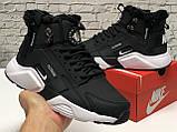 Кроссовки мужские Nike Air Huarache acronym в стиле найк хуарачи НА МЕХУ (Реплика ААА+), фото 6