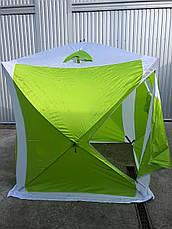 Палатка зимняя туристическая куб Lanyu 1941 (200x200x205см), фото 2