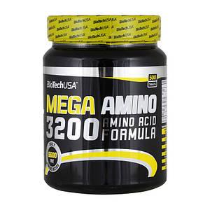 Аминокислотный комплекс BioTech Mega Amino 3200 500 tabs