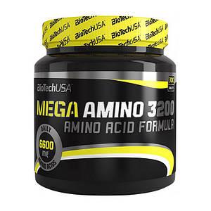 Аминокислотный комплекс BioTech Mega Amino 3200 300 tabs