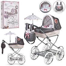 Кукольная коляска DeCuevas 81031 с зонтом