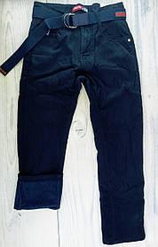 Джинси для хлопчиків На флісі Синій Fashion Туреччина 13 років, зріст 158 см
