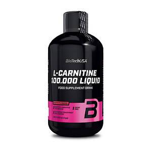 Л карнитин жидкий BioTech L-Carnitine 100 000 500 ml