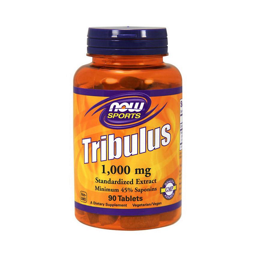 Трибулус террестрис NOW Tribulus 1000 mg 90 tabs