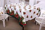 Скатерть Новогодняя 120-150 «Лединец», фото 2