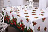 Скатерть Новогодняя 120-150 «Лединец», фото 3