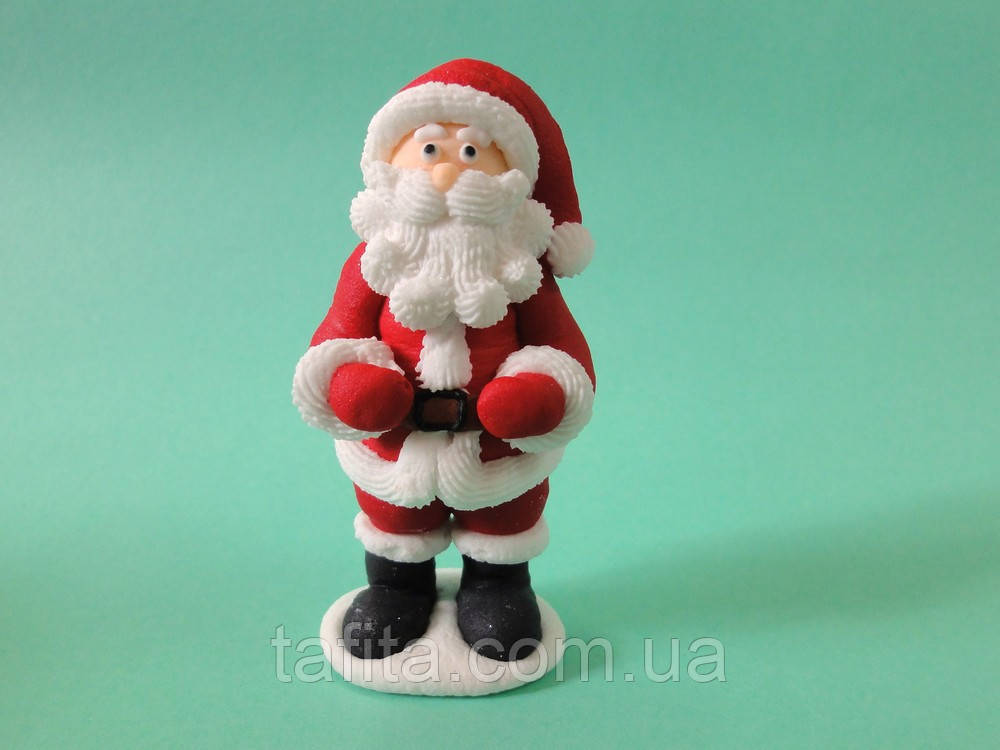 Санта Клаус из мастики