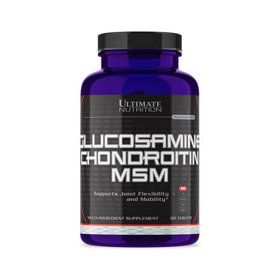 Глюкозамин хондроитин и МСМ Ultimate Nutrition Gl-Ch-Msm 90 tabs