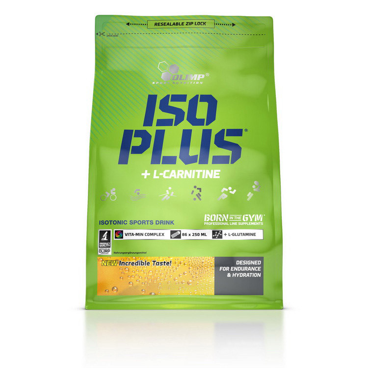 Изотоник OLIMP Iso Plus + L-Carnitine 1,5 kg