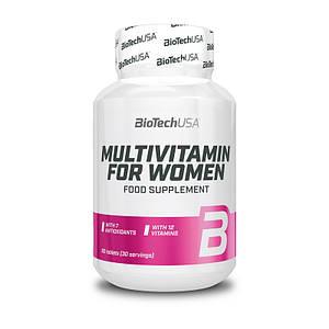 Витамины для женщин BioTech Multivitamin for Women 60 tabs