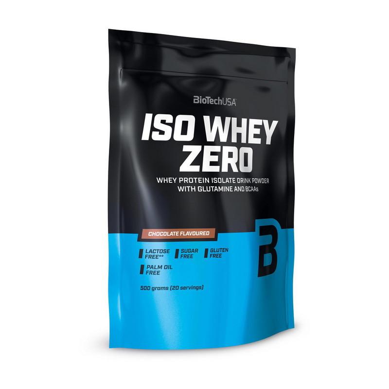 Сывороточный протеин BioTech Iso Whey Zero 500 g