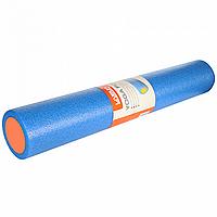 Ролик для йоги LiveUp YOGA FOAM ROLLER Синий с оранжевым LS3764, КОД: 1839894