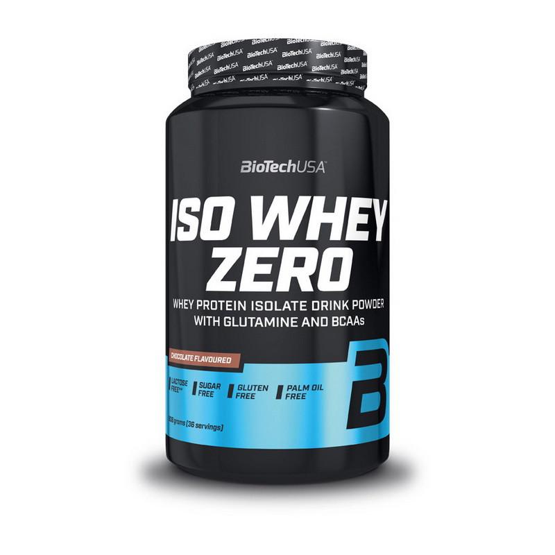 Сывороточный протеин BioTech Iso Whey Zero 908 g