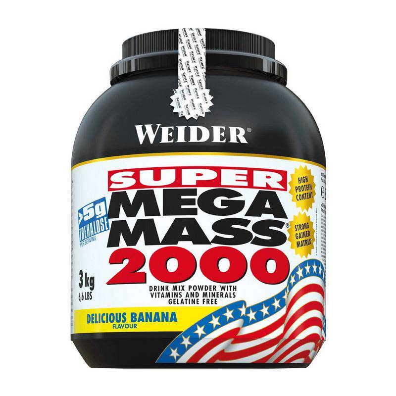 Гейнер Weider Mega Mass 2000 3 kg
