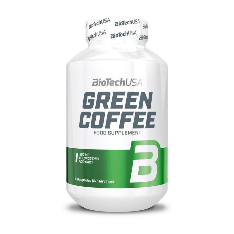 Кофеин BioTech Green Coffee 120 caps