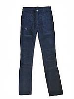 Детские брюки микровельвет для девочки 146 см