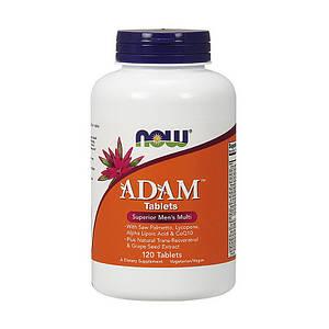 Витамины для мужчин Адам NOW Adam 120 tab