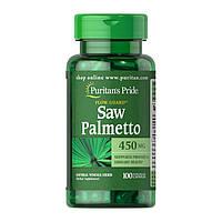 Со Пальметто Puritan's Pride Saw Palmetto 450 mg 100 caps