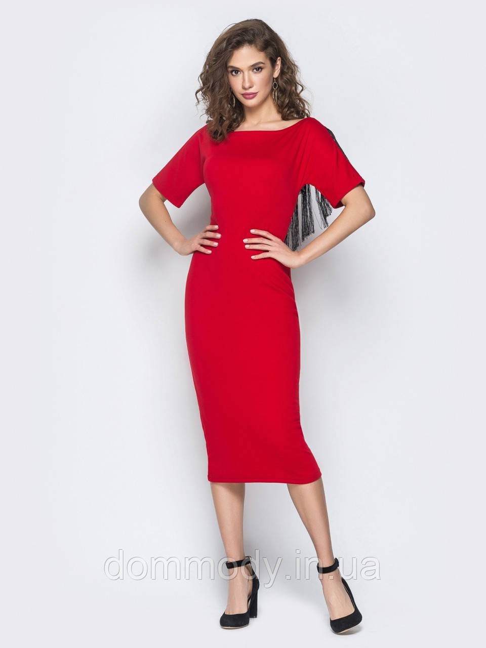 Платье женское Sophie red