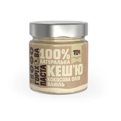 Паста кешью TOM peanut butter Паста кеш'ю 180 g