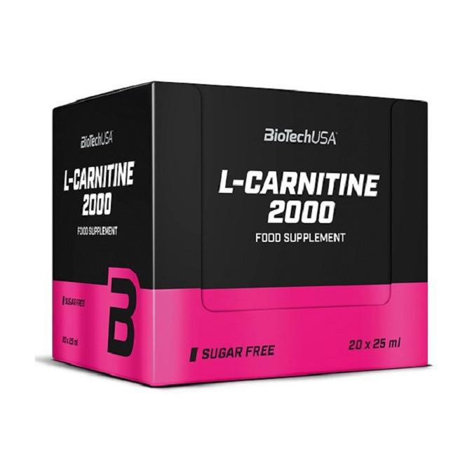 Л карнитин жидкий BioTech L-Carnitine Ampule 2000 20 x 25 ml