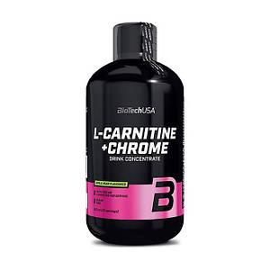 Л карнитин жидкий BioTech L-Carnitine 35 000 + Chrome 500 ml