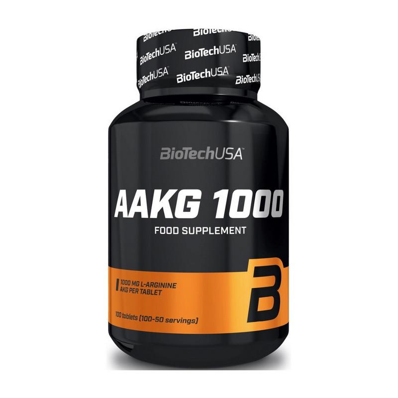 Aргинин BioTech AAKG 1000 100 tabs