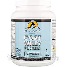 Mt. Capra, Сывороточный белок козьего молока, ваниль, 1 фунт (453 г)