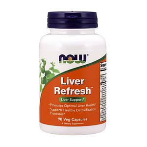 Поддержка печени NOW Liver Refresh 90 caps