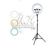Кільцева лампа на штативі (46см), фото 1