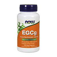 Зеленый чай NOW EGCg Green Tea Extract 400 mg 90 veg caps