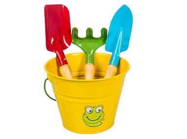 Набор садовых инструментов детский желтый Kid's Garden Stocker 2322