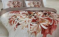 Постельное белье First Choice 3D Didjital Flor сатин 220-200 см разные цвета