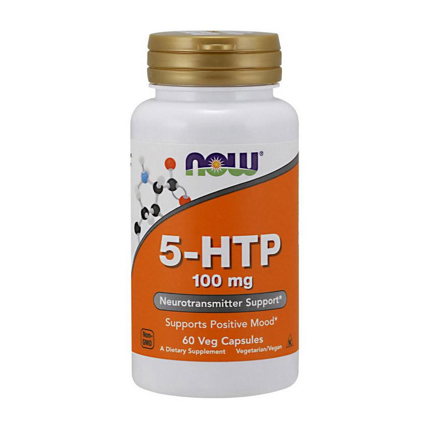 5-гидрокситриптофан NOW 5-HTP 100 mg 60 vcaps