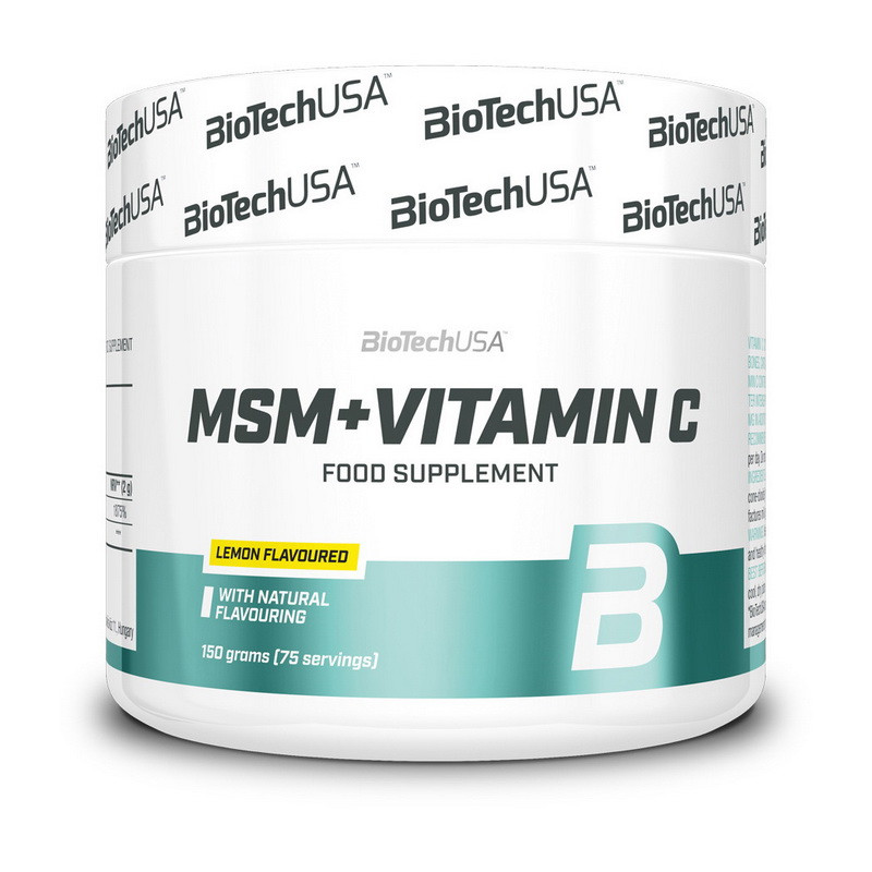 Метилсульфонилметан BioTech MSM + Vitamin C 150 g